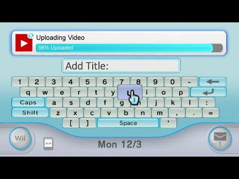 Youtube in Nintendo Wii