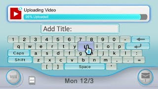 YouTube in Nintendo Wii