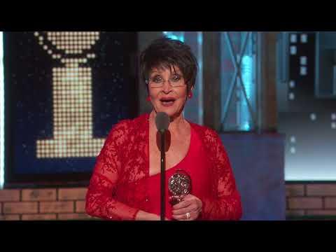 Acceptance Speech: Chita Rivera (2018)