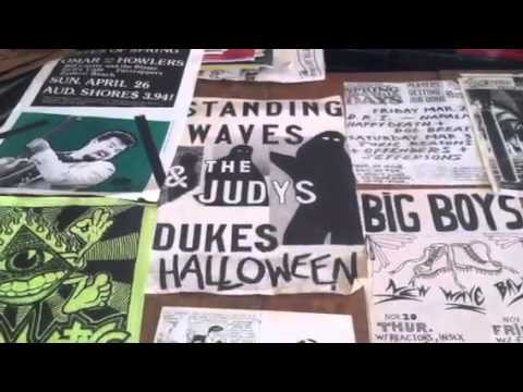 80's Texas Punk Music Posters, Show Fliers & Fanzines #2