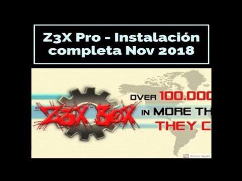 Instalacion Z3X Box Full Noviembre 2018 - Samsung Tool Pro 31.5.1