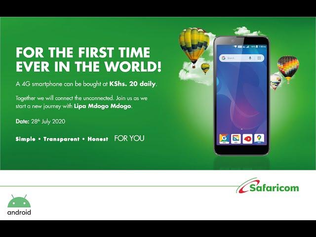 How a big partnership has made 4G phones accessible at KSh20 a day