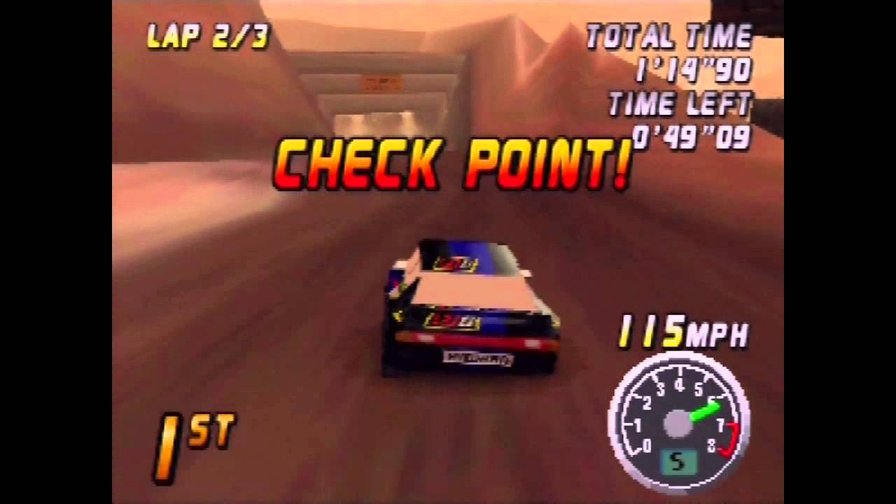 Top Gear Rally N64,