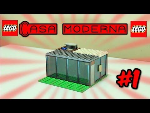 Como construir uma casa moderna de lego youtube for Casa moderna lego
