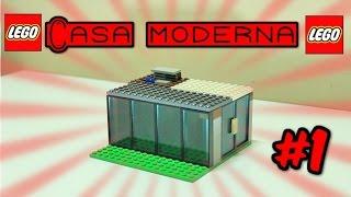 COMO CONSTRUIR UMA CASA MODERNA DE LEGO!!