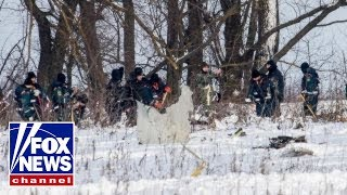 Surveillance video of deadly Russian air crash released
