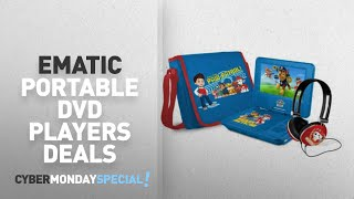 Walmart Top Cyber Monday Ematic Portable Dvd Players Deals: Paw Patrol 7