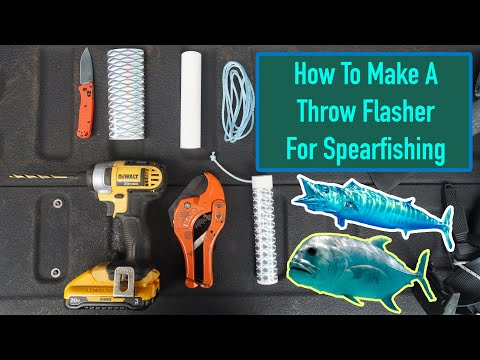 How Mark Healey Makes A Dive Flasher To Shoot Wahoo, Dogtooth Tuna, & Big Ulua!