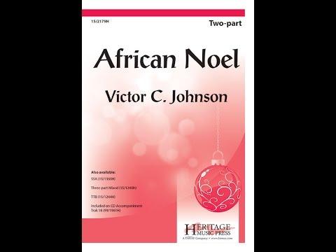African Noel  Victor C Johnson