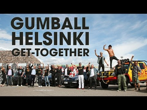 Gumball Get-Together in Helsinki with Team 76 & deadmau5