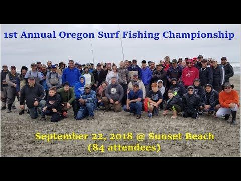 1st Annual Oregon Surf Fishing Championship.  9-22-2018