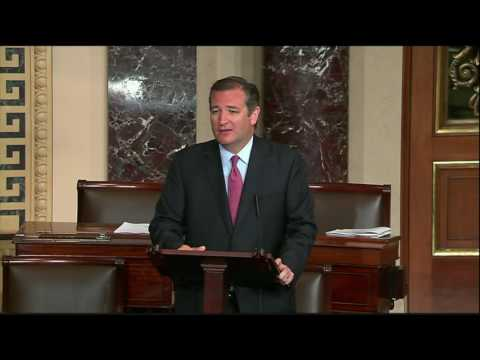 Sen. Cruz Encourages Colleagues to Pass Kate's Law