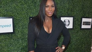 Serena Williams Gives A Helping Hand For Jamaican Children