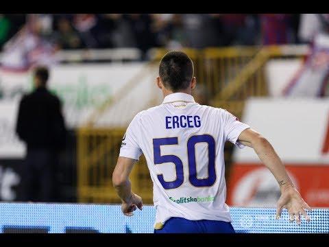 Golovi Ante Ercega u derbiju protiv Dinama