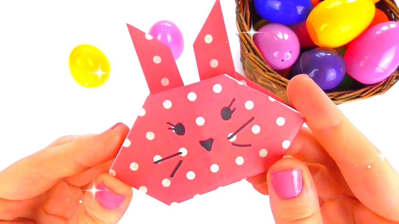 easy origami bunny youtube