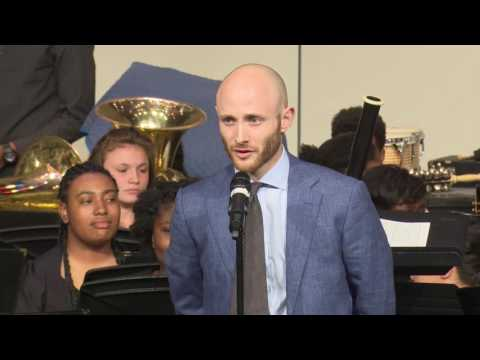 Winton Woods High School Band Concert and Senior Recognition: May 2, 2017