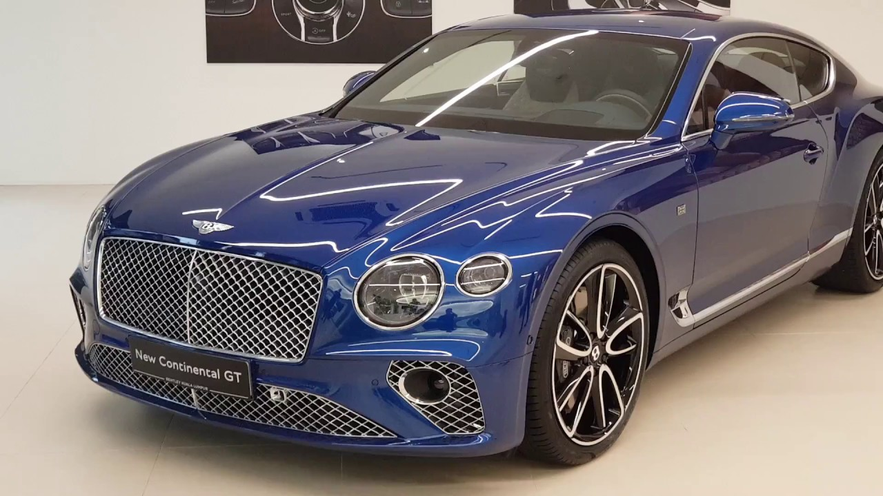 Gt Continental 2018 >> 2018 Bentley Continental Gt W12 First Edition In Depth Walk Around