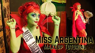 Miss Argentina (Beetlejuice) | Maquillaje & Disfraz completo | Dirty Closet