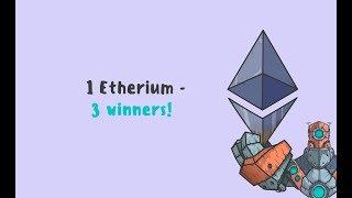 Розыгрыш Ethereum от Robotscrypto