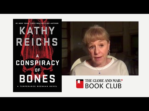 Crime author Kathy Reichs digs into conspiracy theories in her latest novel