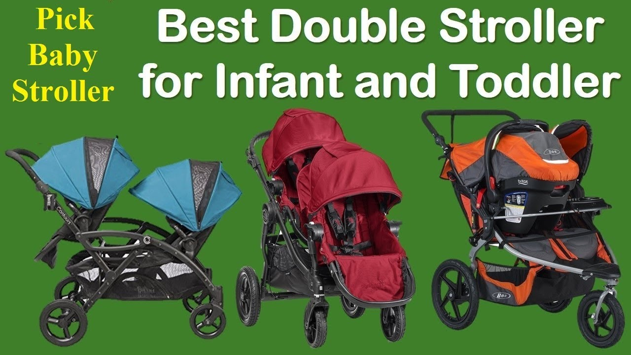 12 Best Lightweight Double Stroller For Infant And Toddler