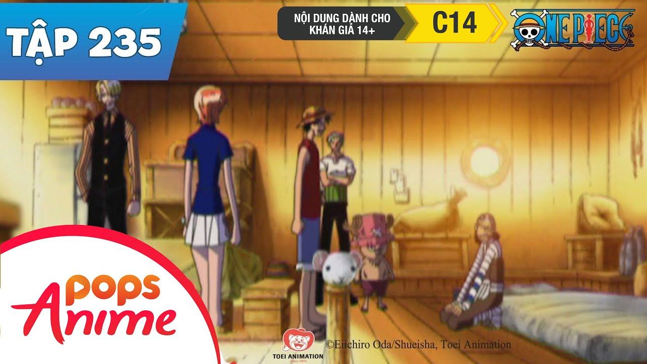 One Piece Tập 235 - Tranh Cãi Dưới Ánh Trăng!Ngọn Cờ Hải Tặc Run Rẩy Trong Đau Thương-Phim Hoạt Hình