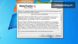 Metatrader 4 Installation Anleitung How To