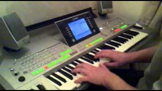 Yamaha Tyros 2. Enya. Willows on the Water