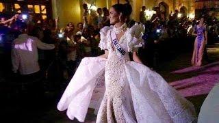 JAN15 VIGAN Cultural Terno Parade & Fashion Show [Miss Universe Thailand น้ำตาล ชลิตา ส่วนเสน่ห์]