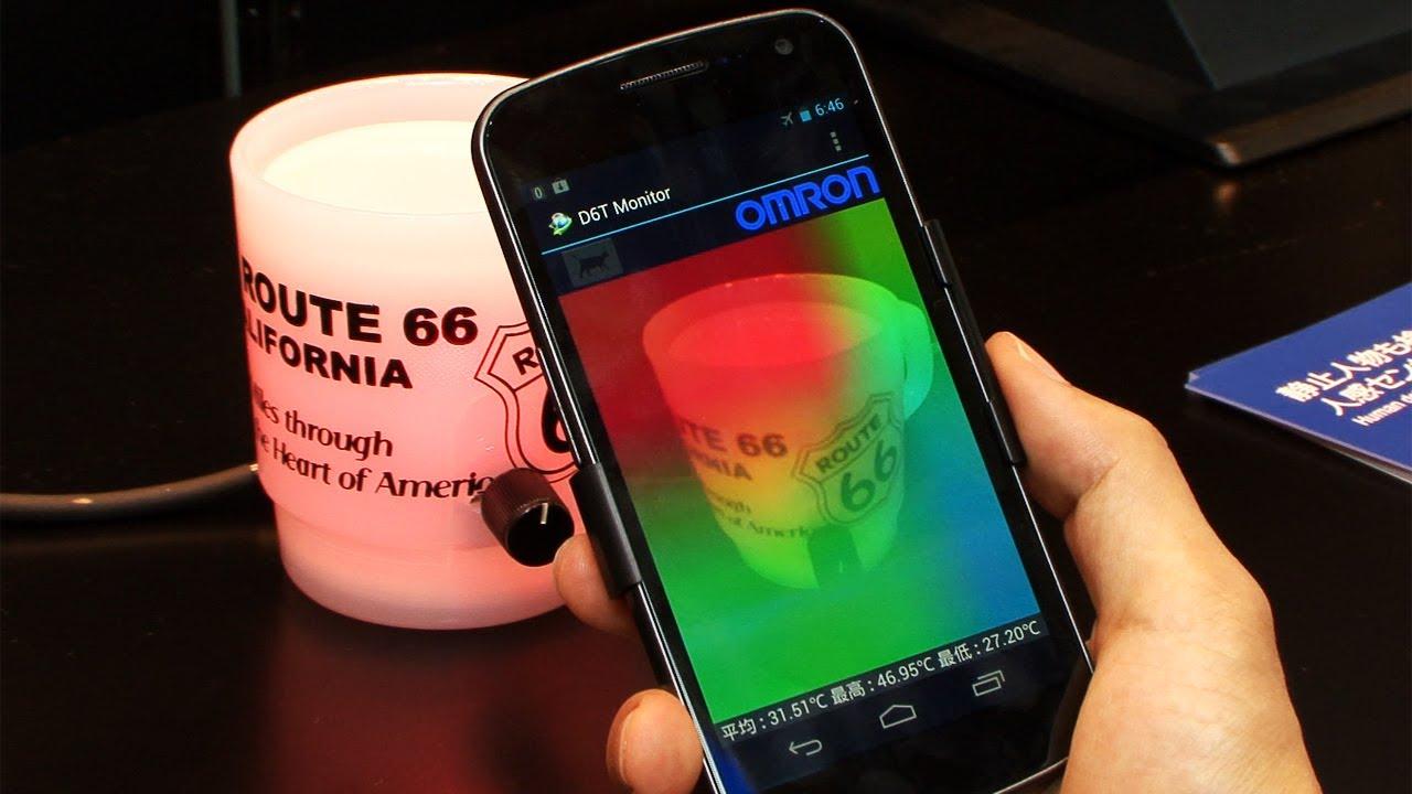 Omron Mems Thermal Area Sensor Checks For Human Presence