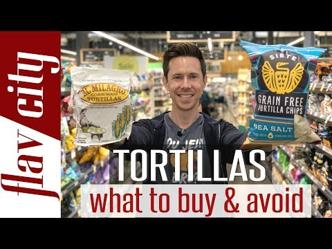 The BEST Tortillas At The Grocery Store Wraps, Chips, Low Carb, & More!