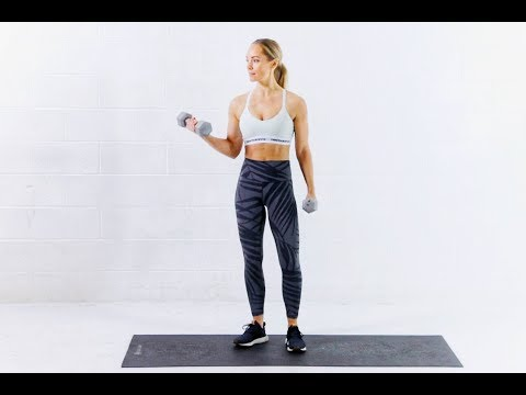 HIIT WORKOUT WITH WEIGHTS // 20 Minute Full Body Workout