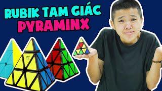 Thử Thách Với Rubik Tam giác Pyraminx | #Shorts