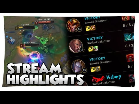 Tryhard Sola is back! STREAM HIGHLIGHTS