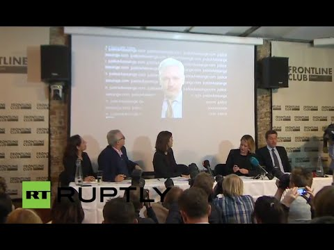 LIVE: Assange gives press conference following UN decision on his detention