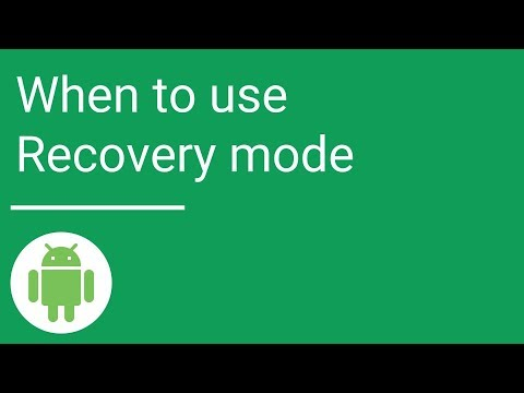 When To Use Recovery Mode