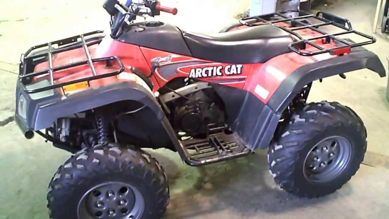 Cat Atv Arctic 2003 Bed
