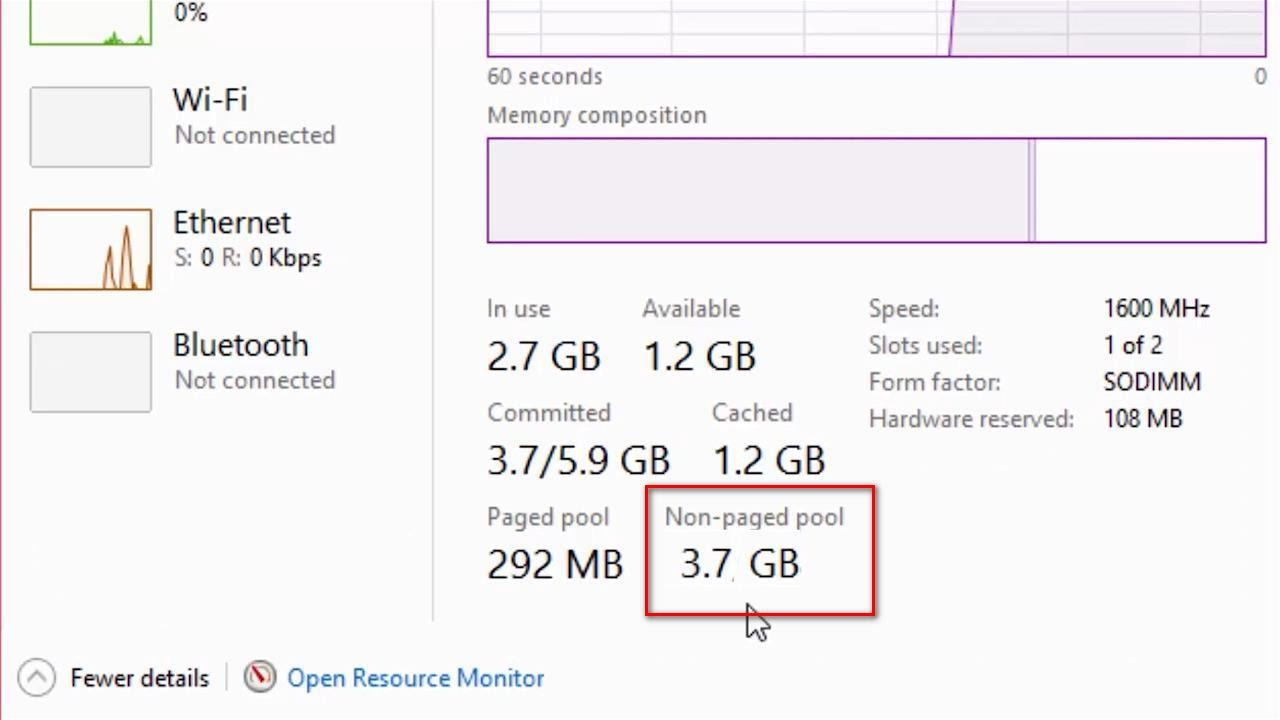 killer network drivers memory leak