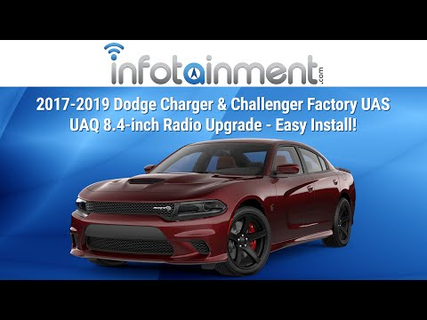 2017 Dodge Challenger & Charger Factory 8.4-inch Radio Upgrade UAS & UAQ Install