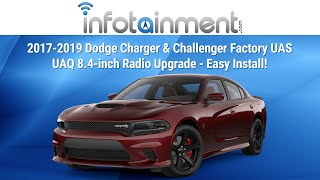 2017-2019 Dodge Charger & Challenger Factory UAS UAQ 8.4-inch Radio Upgrade - Easy Install!