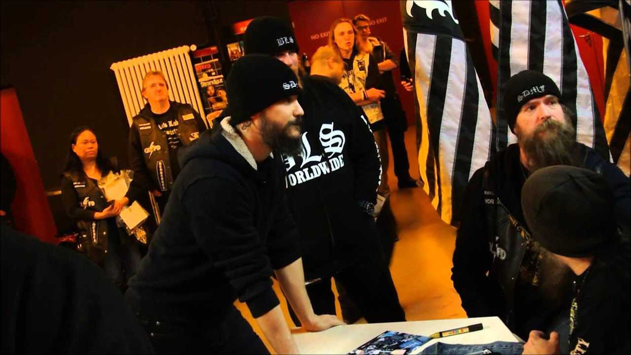 Black Label Society Meet And Greet Youtube