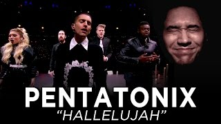 Pentatonix - Hallelujah (From A Pentatonix Christmas Special) REACTION!!!