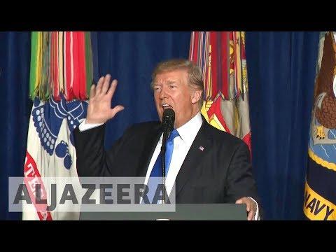 Trump vows to keep US troops in Afghanistan