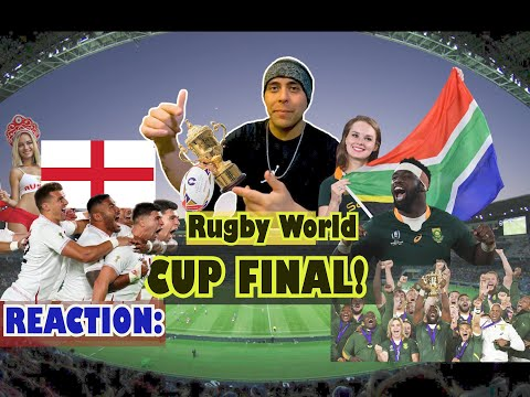 U.S. Soldier Reaction : 2019 Rugby World Cup Final England Vs South Africa Springboks.