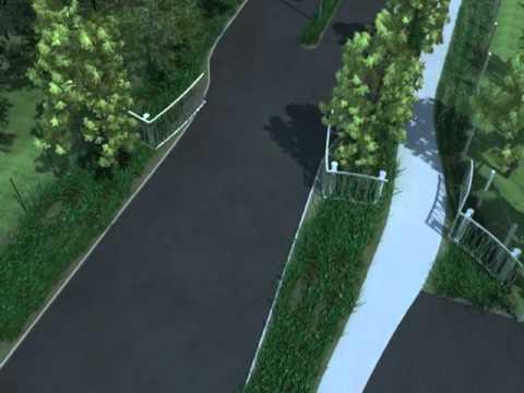 Steel Gates by Nicholas Bray an Australian Landscape Architect
