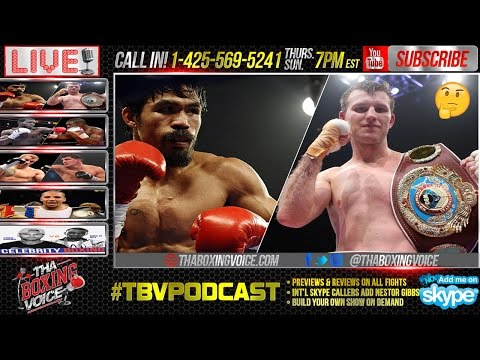 Manny Pacquiao vs. Jeff Horn Could Possibly Land in Australia
