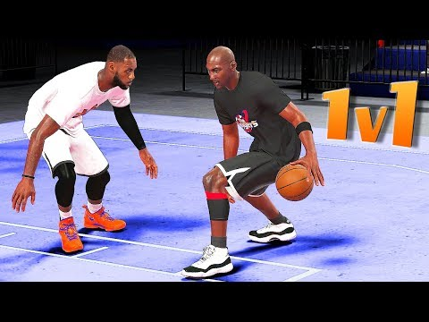 The KING vs The GOAT LeBron James vs Michael Jordan 1v1 - NBA 2K18
