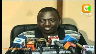 Ruto Suspended