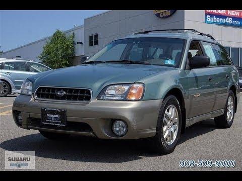 2003 Subaru Legacy Outback Wagon All Wheel Drive Youtube