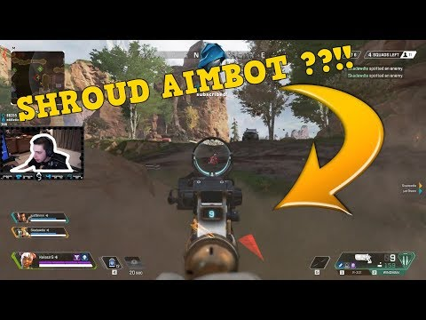 Apex Legends : SHROUD AIMBOT ??!! (03/08/2019) EPIC / FUNNY MOMENTS